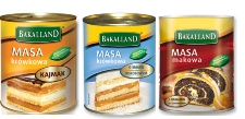 Cans of Imported Polish Pastry Fillings