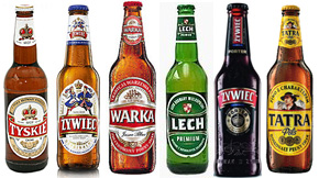 Polish Beer Selection
